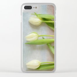 Tulips - JUSTART © Clear iPhone Case