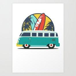 Surf Lover Art Print