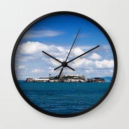 Alcatraz, San Francisco Wall Clock