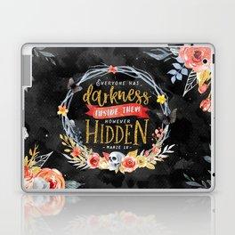 Darkness Hidden Laptop & iPad Skin