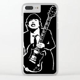 AC DC Clear iPhone Case
