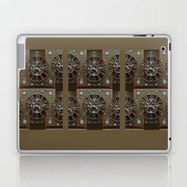 Steampunk Klokface Laptop & iPad Skin