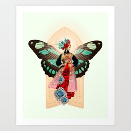 Saint Mother Art Print