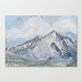 Spring  on Mount Sopris Canvas Print