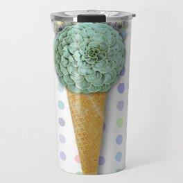 SUCCULENT CACTUS ICE CREAM Travel Mug