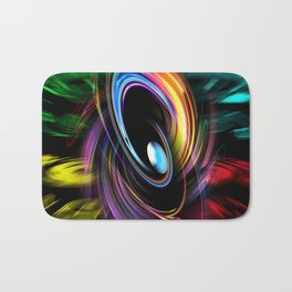 Abstract perfection 46 Bath Mat