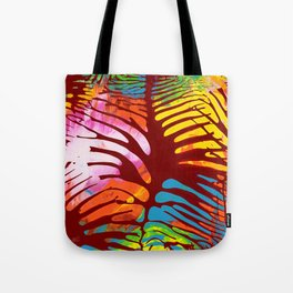 Tropic Leaves Tote Bag