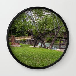 Lovework at the Humpback Bridge Wall Clock