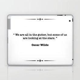 Oscar Wilde Quote Laptop & iPad Skin