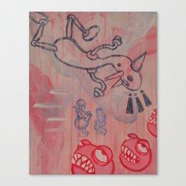 Dick and Jane go to Disneyland Canvas Print