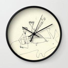 Sammi the Boyfriend, (from the Urals) ca. 1950 Wall Clock