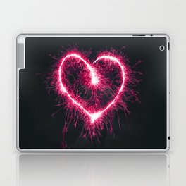 Firework Heart (Color) Laptop & iPad Skin