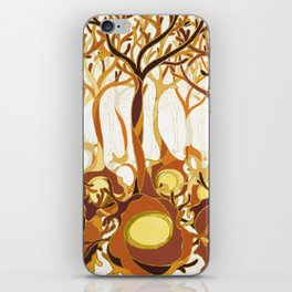 Neuronal Forest iPhone Skin