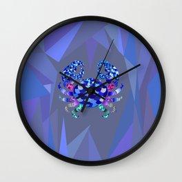 The Blue Crab Wall Clock