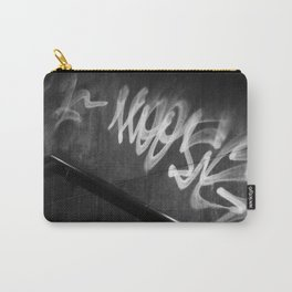 Street Graffiti in Black and White Carry-All Pouch