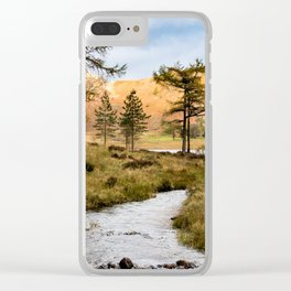 Lake District landscape Clear iPhone Case