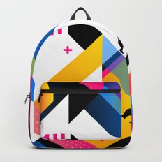 Abstract Shapes Backpacks