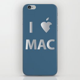 I heart Mac iPhone Skin