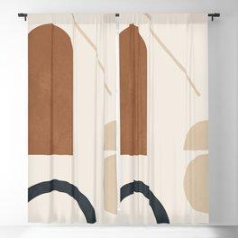 Geometric Modern Art 32 Blackout Curtain