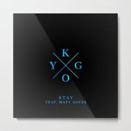 Kygo Stay Metal Print