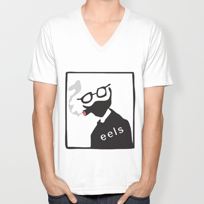 Like Eels New T-Shirt Mens Womens Kids All Size Colours Beard T-Shirts Unisex V-Neck