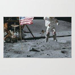 Apollo 16 - Astronaut Moon Jump Rug