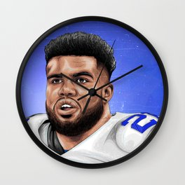 EZEKIEL ELLIOTT Wall Clock