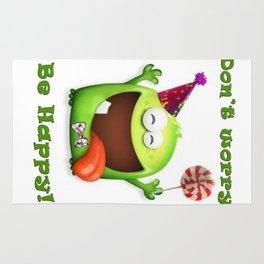 Happy Monster Rug
