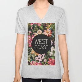 West Coast Unisex V-Neck