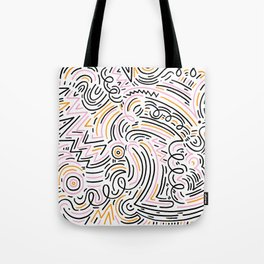 squiggle wiggles Tote Bag
