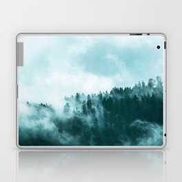 Clear away the fog to see the light. Turquoise Laptop & iPad Skin
