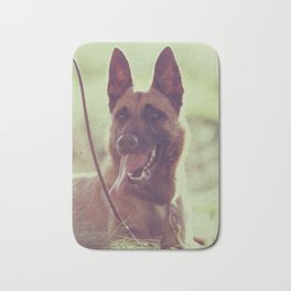 Malinios Beauty dog picture Bath Mat