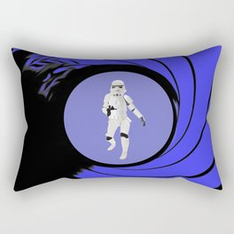 The name is Trooper, Storm Trooper Rectangular Pillow