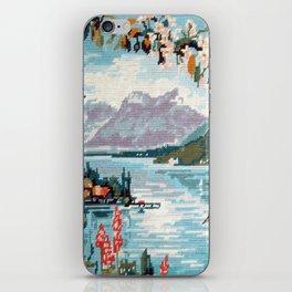 Cross stitch Blossom iPhone Skin