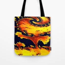 fire whirl Tote Bag