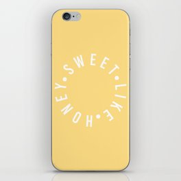 sweet like honey iPhone Skin
