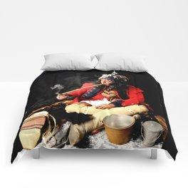 Seneca Tribe Native American 1730 Comforters