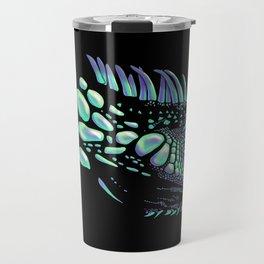 Iguana black Travel Mug