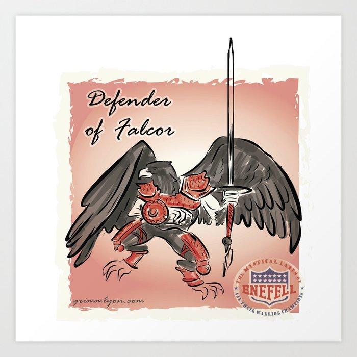 Defendor of Falcor Art Print