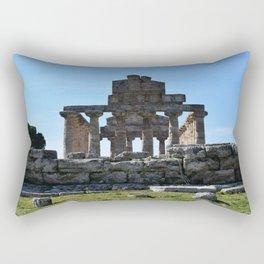 templi di paestum Rectangular Pillow
