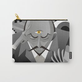 third eye mentalist with eyes background Carry-All Pouch