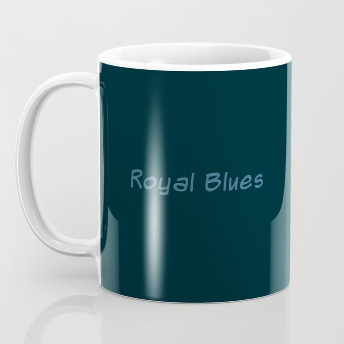 Tracy Queen: Royal Blues Coffee Mug