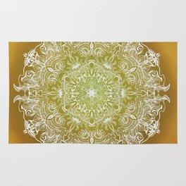 Rising Sun Mandala Rug