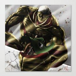 Armored Titan Canvas Print