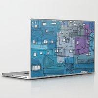 seoul Laptop & iPad Skins featuring Seoul City #3 by Rob McClelland