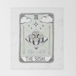 The Sushi Throw Blanket