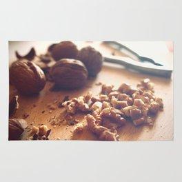 Walnuts addiction Rug
