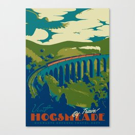 Visit Hogsmeade Canvas Print
