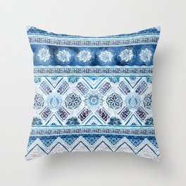 Ethnic Bands 1 Throw Pillow