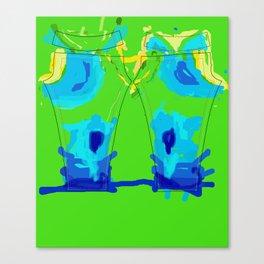 Thermal Imaging Pants Canvas Print